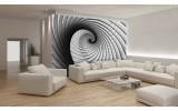 Fotobehang Design, 3D | Grijs | 208x146cm