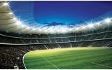 Fotobehang Voetbalveld | Groen | 104x70,5cm