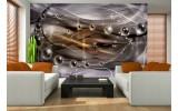 Fotobehang 3D, Design | Paars | 104x70,5cm