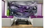 Fotobehang 3D, Design | Paars | 312x219cm