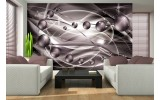 Fotobehang 3D, Modern | Grijs | 208x146cm