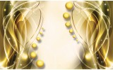 Fotobehang Modern | Goud, Geel | 416x254