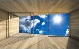 Fotobehang Lucht, Modern | Blauw | 312x219cm