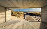 Fotobehang Strand, Modern | Crème | 312x219cm