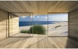 Fotobehang Strand, Modern | Blauw | 104x70,5cm