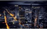 Fotobehang Steden, Skyline | Geel | 152,5x104cm