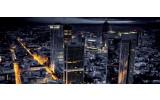 Fotobehang Steden, Skyline | Geel | 250x104cm