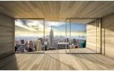 Fotobehang Skyline, Modern | Grijs | 208x146cm