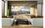 Fotobehang Skyline, Modern | Grijs | 104x70,5cm
