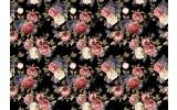 Fotobehang Vlies | Bloemen | Roze, Zwart | 368x254cm (bxh)