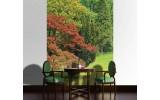 Fotobehang Papier Natuur | Groen | 184x254cm