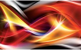 Fotobehang Papier Abstract | Rood, Oranje | 368x254cm