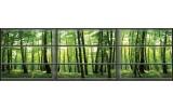 Fotobehang Vlies Bos, Natuur   Groen   GROOT 624x219cm