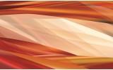 Fotobehang Abstract | Crème, Oranje | 208x146cm
