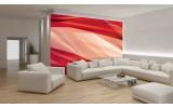 Fotobehang Abstract   Crème, Rood   312x219cm