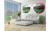 Fotobehang Voetbal   Groen  