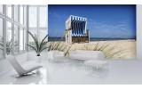 Fotobehang Strand | Blauw | 152,5x104cm