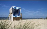 Fotobehang Vlies   Strand   Blauw   368x254cm (bxh)