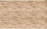 Fotobehang Vlies | Brick | Crème | 368x254cm (bxh)