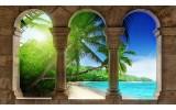 Fotobehang Tropisch | Groen | 208x146cm