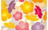 Fotobehang Bloemen | Geel | 152,5x104cm