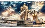 Fotobehang London | Sepia | 416x254
