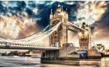 Fotobehang Vlies   London   Sepia   368x254cm (bxh)