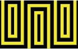 Fotobehang Vlies | Stenen | Zwart, Geel | 368x254cm (bxh)