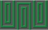 Fotobehang Vlies | Stenen | Groen | 368x254cm (bxh)