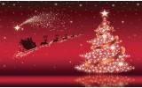 Fotobehang Kerst | Rood | 416x254