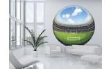 Fotobehang Voetbal | Green |