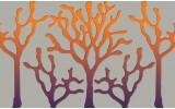 Fotobehang Vlies   Abstract   Oranje   368x254cm (bxh)
