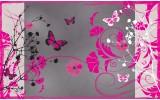 Fotobehang Vlies | Bloemen | Roze | 368x254cm (bxh)