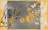 Fotobehang Bloemen | Geel | 416x254