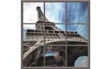 Fotobehang Eiffeltoren | Blauw |
