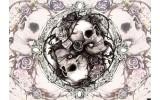 Fotobehang Alchemy Gothic | Crème | 312x219cm