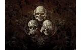 Fotobehang Alchemy Gothic | Bruin | 104x70,5cm
